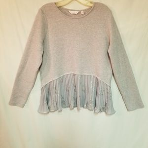 Lauren Conrad Gray Sweater